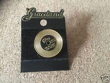 RARE Elvis Presley GOLD RECORD Love me Tender PIN graceland  limited edit new
