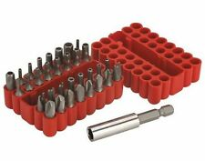33 Pc Hex Star Tri-Wing Bits Security Bit Set Tamper Proof Torque Spanner NEW