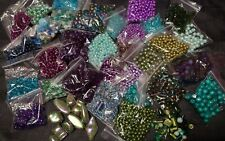 Beads, Findings, Charms, Seed beads, Joblot,  8kgs Check out all photos. Bulk.