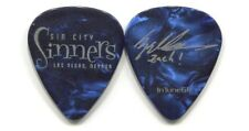 SIN CITY SINNERS 2012 Tour Guitar Pick!!! ZACHARY THRONE custom concert stage #2