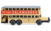 """#087304 - Wiking Berliner Doppeldeckerbus D 38 """"Salamander"""" - 1:87"""