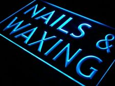 i358-b Nails & Waxing Beauty Salon Saloon Light Sign