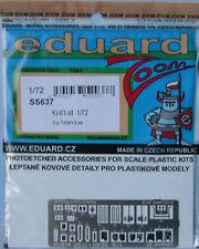 "Eduard 1/72 SS637 Zoom Etch pour le Tamiya KAWASAKI Ki-61-Id Hien ""Tony"" Kit"