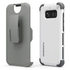 PureGear Dualtek Extreme Impact & HIP Case Holster Samsung Galaxy S8+ Plus White