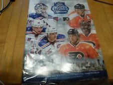 NEW 2012 WINTER CLASSIC OFFICIAL PROGRAM NEW YORK RANGERS VS PHILADELPHIA FLYERS