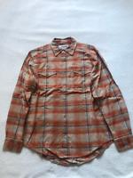 Mountain Khaki Men's Teton Flannel Shirt, Terracotta, Medium