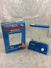TOMY Waterfuls Tic Tac Toe Toy Game 1986 Original Box Water Balls Game Blue