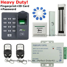 Biometric Fingerprint+RFID Card Door Access Control System+Magnetic Lock+2Remote