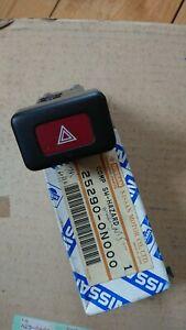 Nissan Almera N15, Hazard light switch, new genuine part.