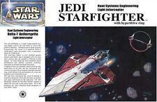 Nuevo Fine Molds 1/72 Star Wars episodio 2 Jedi Starfighter SW-3 Obi-Wan Japón