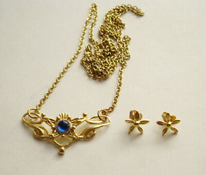 LOTR Lord of the Rings The Eowyn Necklace & Earrings