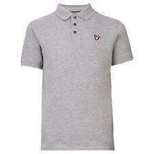 856faa9b7 Lyle & Scott Junior Classic Polo Shirt Vintage Grey Heather 4-5 Years