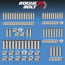 SBC SMALL BLOCK CHEVY ENGINE STUD KIT BOLTS STAINLESS STEEL 283 305 327 350 400
