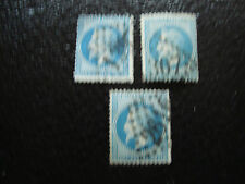 FRANCE - timbre yvert et tellier n° 29B x3 obl (A6) stamp french