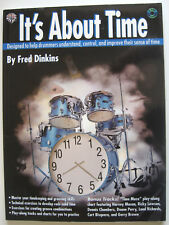 It's About Time by Fred Dinkins PB Book (Drums Drummers Drumming)