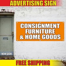 Consignment Banner Advertising Vinyl Sign Flag Furniture Home Goods shop sale