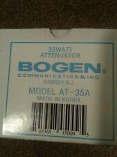 Bogen Communications 35 Watt Attenuator Model AT-35A for 25V or 70V