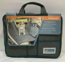 "Kurgo Heather Dog Hammock Pet Seat Cover Waterproof & Stain Resistant 55"" NEW"