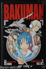 JAPAN Bakuman Character Book Charaman Takeshi Obata 2011