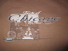 Taste Of CHICAGO (MED) T-Shirt KENNY ROGERS JOHN MAYER The BLACK CROWES CRACKER