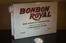 Vtg BonBon LIQUOR LIQUEUR BOTTLE - Great Bud Vase #U