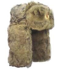 3b82e427010 Ladies Lush Cream Winter Fur Cossack Trapper USSR Soviet Badge Ushanka Ski  Hat