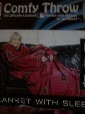 Anaheim Angels Mlb Blanket/Sleeves 48x71 Comfy Throw
