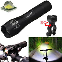 Ultrafire 50000Lumens XM-L T6 Zoomable Tactical LED Flashlight 18650 Torch Lamp
