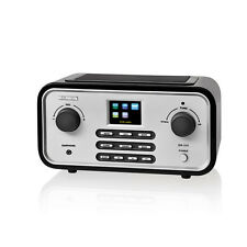 Albrecht DR315-C Internet Digital Radio UKW DAB LAN WLAN MP3 Display schwarz