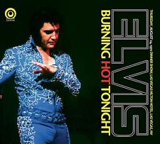 ELVIS PRESLEY Burning Hot Tonight CD Digipack Live 1972 Rock'n'roll ballad prog