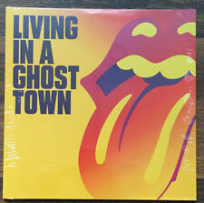 "Rolling Stones - Living In Ghost Town 10"" Single EP [Vinyl New] Limited Orange"