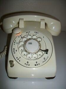 Western Electric 500 P/U WHITE Mushroom Telephone  10/59