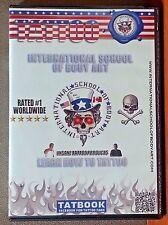 Tattoo: International School of Body Art      4 DVD Set    LIKE NEW