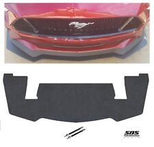 PP2 style FRONT SPLITTER + 2 Support rods 2018-2020 MUSTANG GT Performance Pack