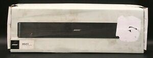 Bose Solo 5 TV Soundbar Sound System w/ Remote (Black) 732522-1110 *NEW*