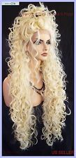 "30"" X-LONG LACE FRONT DEEP C-PART HIGH HEAT SAFE WIG COLOR 613  SEXY 1120 NEW"