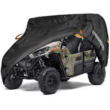 4x4 Utility Vehicle Cover Double Row Seats Storage Fits Kawasaki Teryx4 750 800