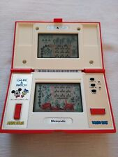 Game & Watch Nintendo Mickey & Donald 1982 en caja original Boxed