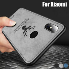 For Xiaomi Redmi Note 6 5 Pro Mi A1 A2 Leather Hybrid TPU Matte Soft Case Cover
