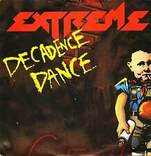 """EXTREME decadence dance/money in god we trust AM 773 uk a&m 1991 7"""" PS EX+/EX"""