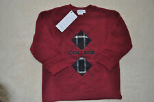 Pappa &Ciccia Boys Burgundy 100% Cotton Pullover (5Yr.) MSRP:  $85.00