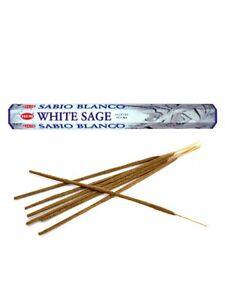 Hem White Sage incense Sticks From 1 to 12 Boxes - 20 Sticks/Box