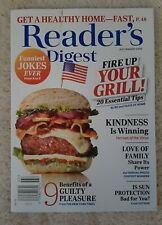 Reader's Digest Magazine July August 2020 Issue Fire Up Your Grill! 20 Tips
