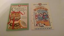 2 GOOSE BERRY PATCH COOKIE BOOKLETS COOKIE SWAP & COUNTRY FRIENDS COLLECTION