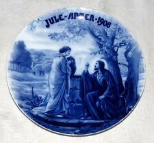 """Fremstillet alene for Bucka & Nissen 8.1/2"""" Jule After 1906 Christmas Plate"""