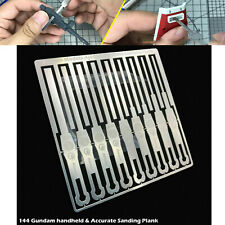9-in-1 Metal Detail Grinding Stick for 1/144 Gundam Model Building Tool Handheld