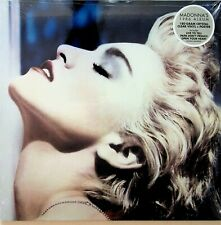 MADONNA True Blue LP (NEW SEALED 2019 *SPECIAL CRYSTAL CLEAR VINYL*) 1986 POSTER