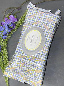 Beekman 1802 Pure Lavender Facial Body Cleansing Wipes Supersize 100 Count NEW