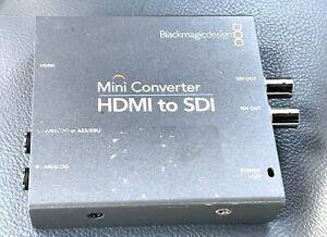 Blackmagic Design HDMI to SDI Mini Converter
