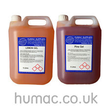 More details for floor gel cleaner lemon pine odour highly concentrated bactericidal disinfectant